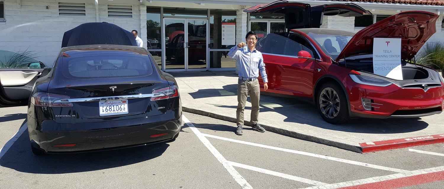 Simon Park at Tesla