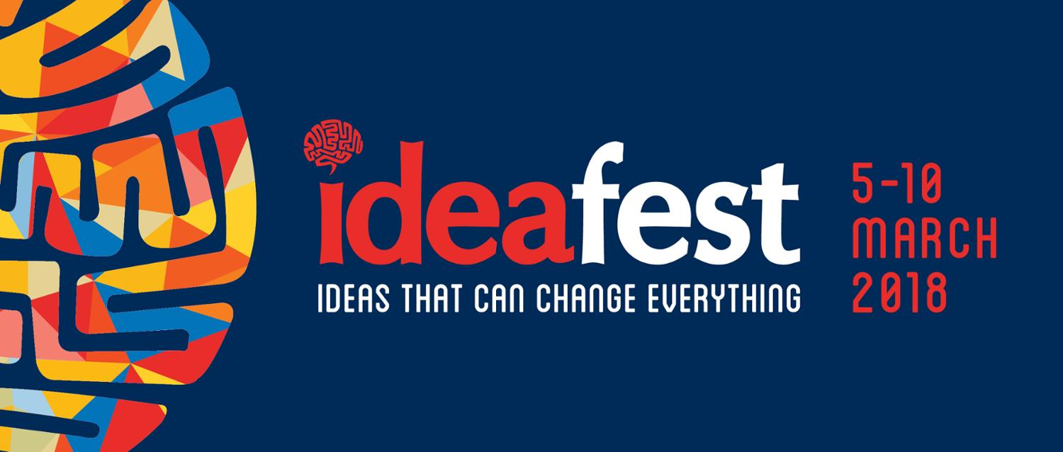 Ideafest graphic: Ideas that can change everything