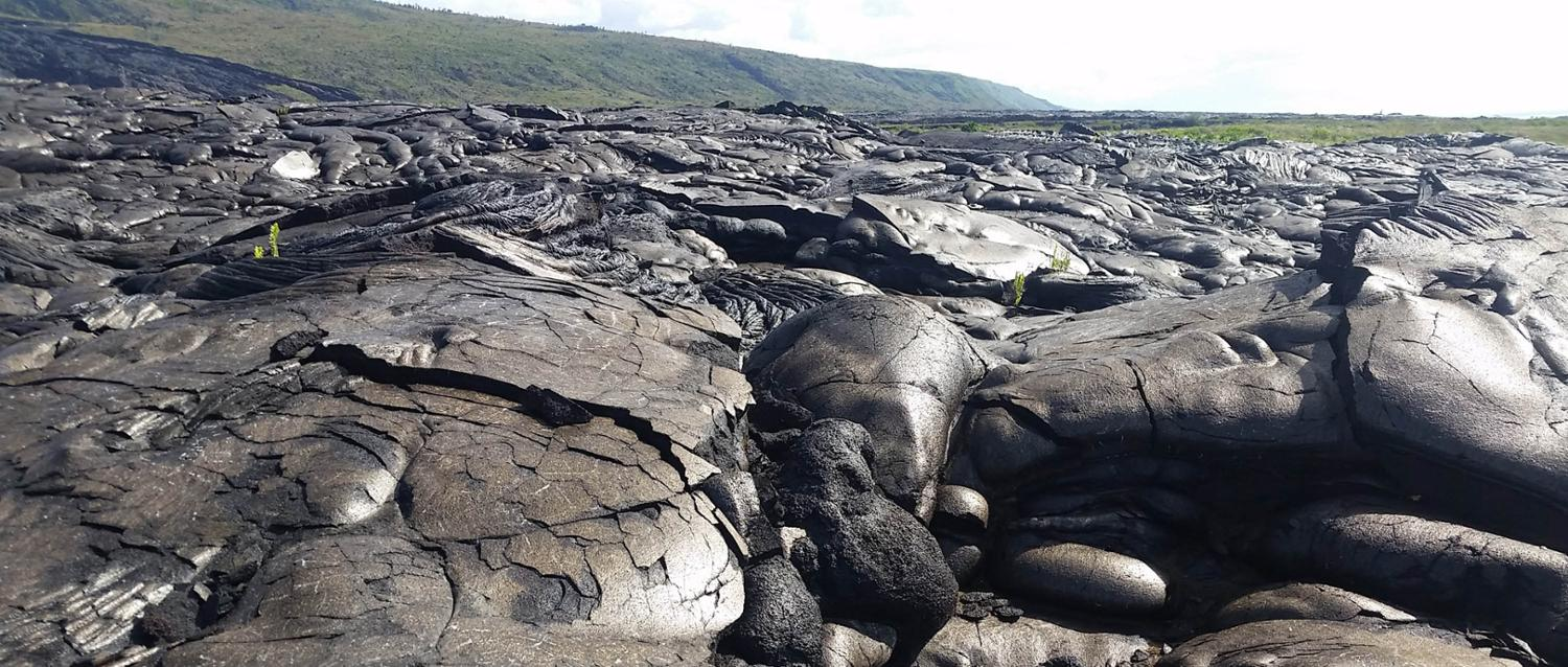 Basalt rock in Hawaii