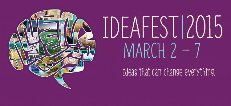 IdeaFest brain graphic
