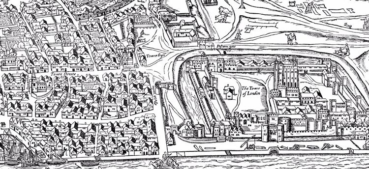 Map of Early Modern London screenshot