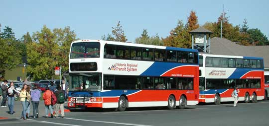 University of Victoria - Maps and buildings - Bus routes