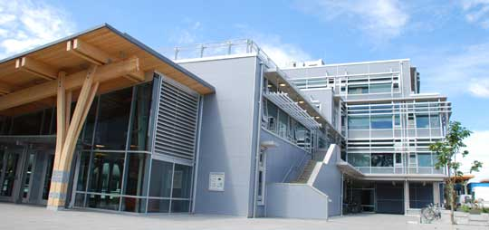 Social sciences and mathematics building