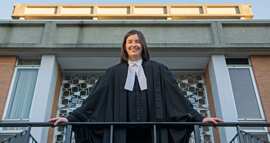 UVic Law student