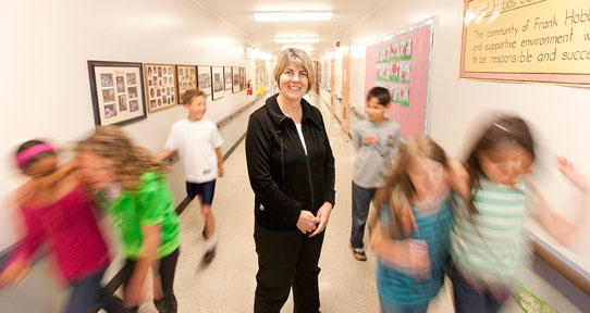 Psychologist Bonnie Leadbeater works with schools, police and community groups across Canada to implement an anti-bullying program known as WITS.