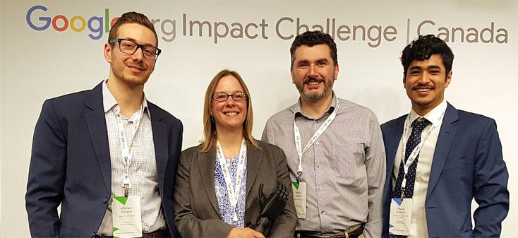 Google Impact Challenge Winners