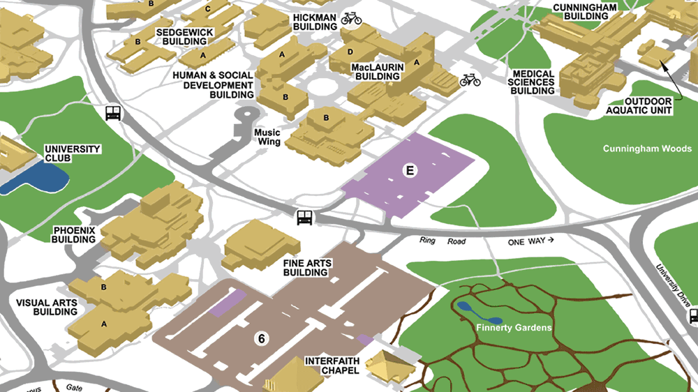 university of victoria campus map Maps Parking University Of Victoria university of victoria campus map