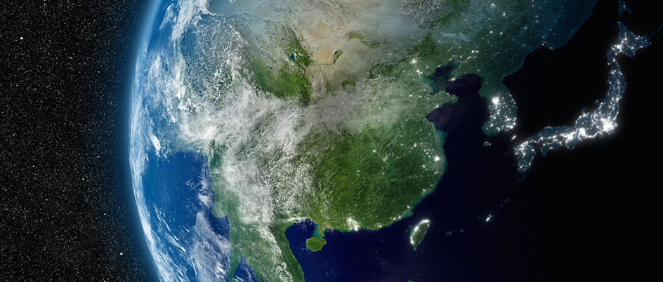 Stock photo of Earth from space