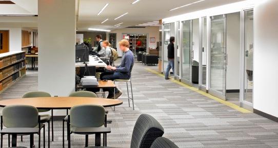 Students Enjoy The Informal Seating With Its Comfy Chairs And Couches