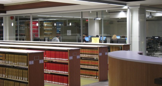 Uvic Library Book Study Room