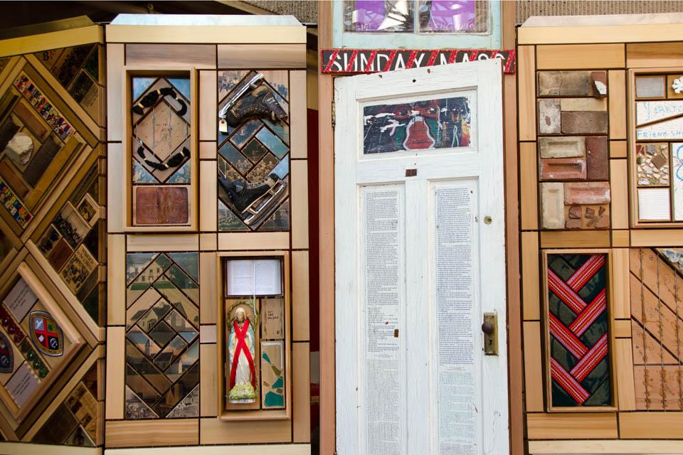 Sisters It Department Glass Door