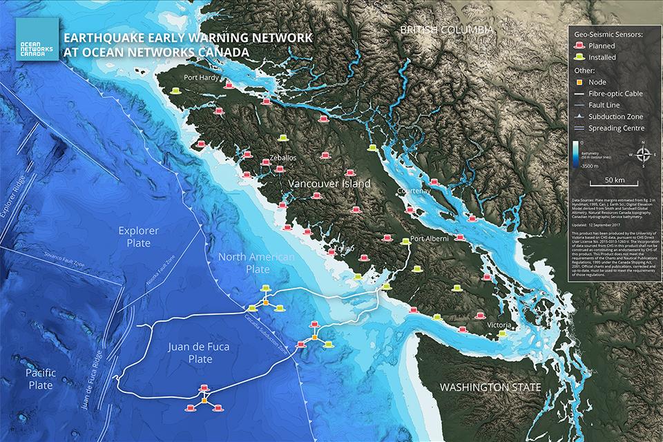 ONC sensors monitor Alaska earthquake University of Victoria