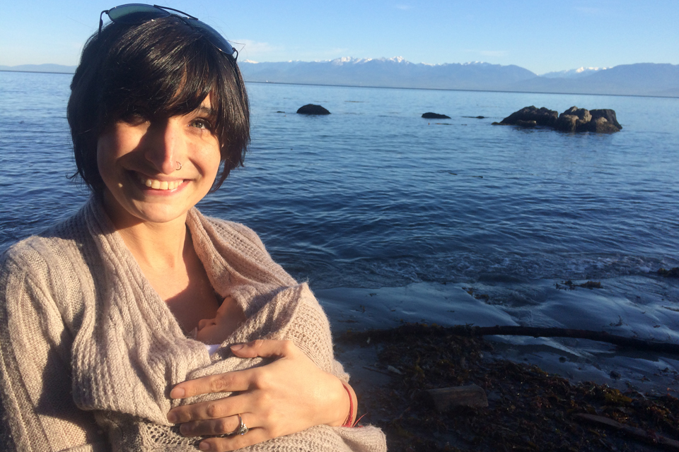 UVic biology grad student Amy Teffer in Sooke ahead of release of new sharks study