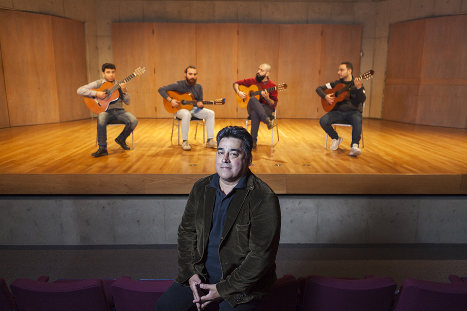 Orontes Guitar Quartet with Alex Dunn