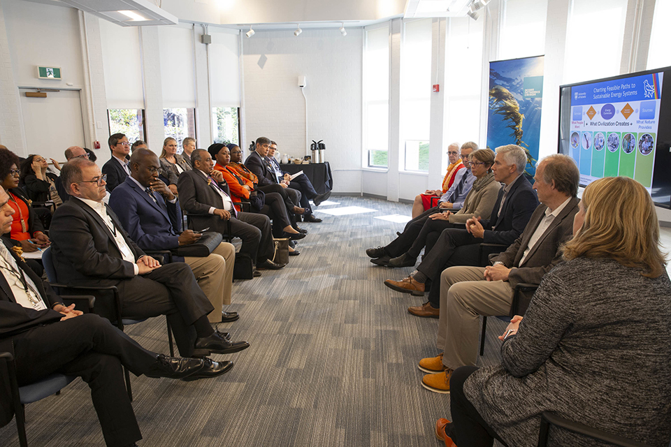 Heads of Mission tour of BC includes UVic visit