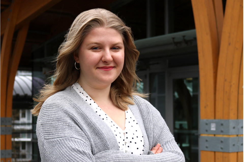 Lena Price, UVic political science student
