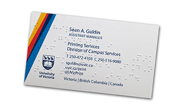 Department of printing services university of victoria image of edge braille card reheart Gallery