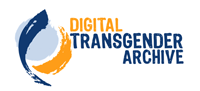 Logo that says Digital Transgender Archive