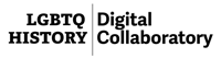 Logo that reads LGBTQ oral history digital collaboratory