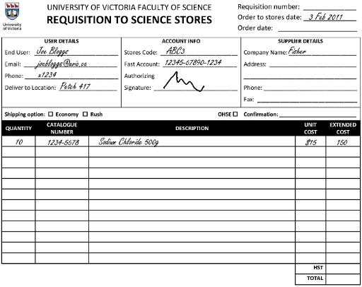 What Is Requisition Blank Purchase Requisition Form Sample