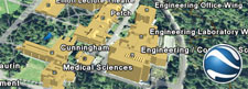 Google Earth campus map