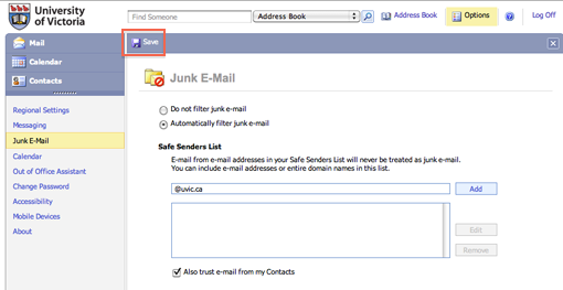 how to delete junk mail on mac