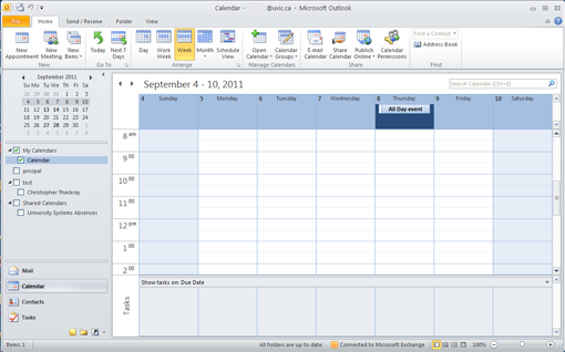 create an all day event outlook 2010 and 2013 university of victoria