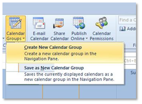 Create a group schedule: Outlook 2010 and 2013 - University