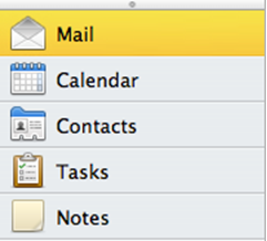 Activate Out of Office Assistant: Outlook 2011 for Mac - University