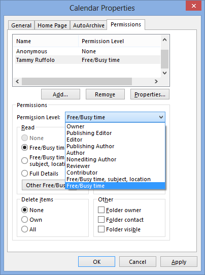 how to use outlook calendar 2013