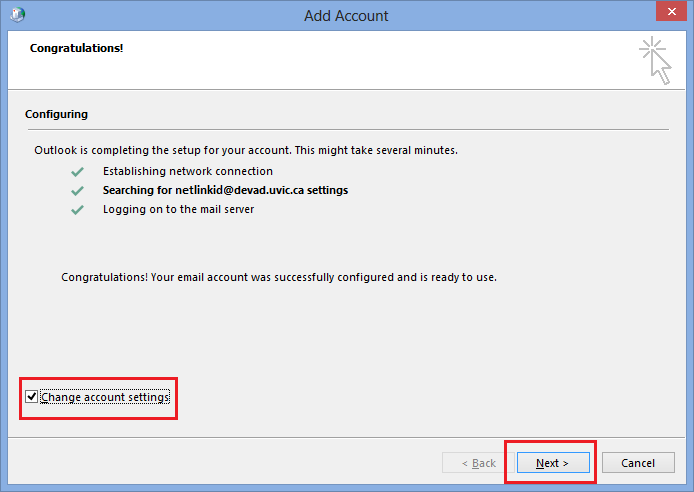 how to change your email name on outlook