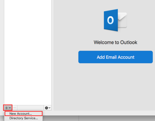 Configure your UVic email with Outlook 2011/2016 for Mac
