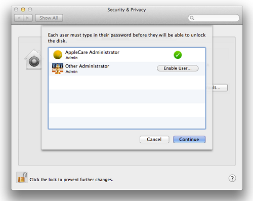 Encrypt a disk using FileVault 2: Mac - University of Victoria