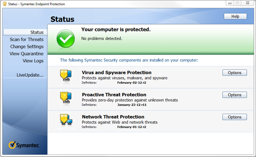Symantec Endpoint Protection - Manually Updating Definitions