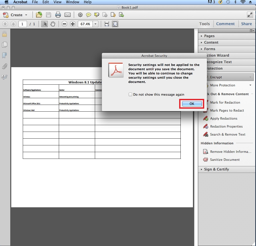how to break the security of pdf file
