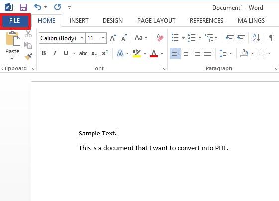 ms 2007 word to pdf