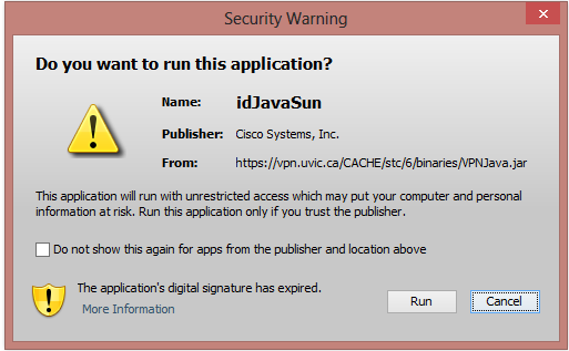 Install the VPN client: Windows - University of Victoria