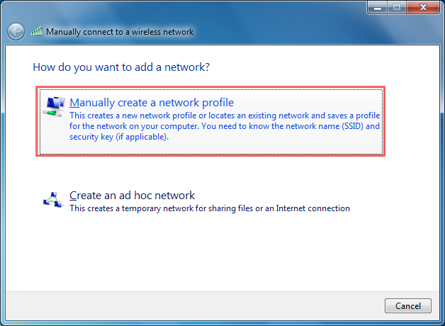 how to connect win 7 laptop to internet wireless