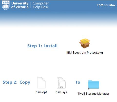 TSM installation and configuration: Mac OS X - University of
