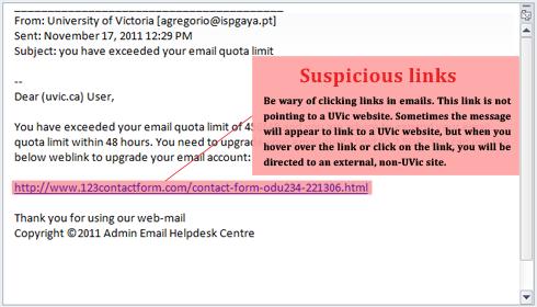 Phishing - University of Victoria